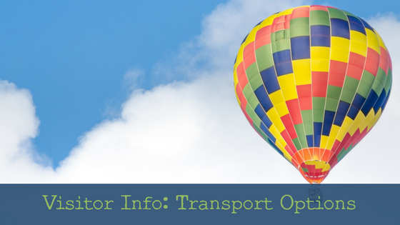 Visitor Information: Travel and Transport