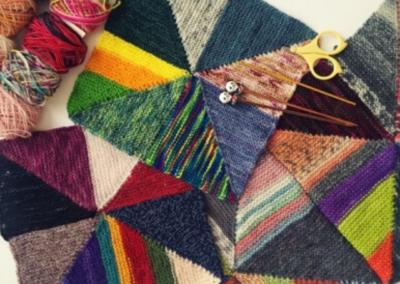 Mina Philipp – Pinwheel Scrap Blanket